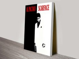 Scarface Movie Poster Canvas Print