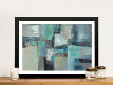 Sea Foam Framed Wall Art