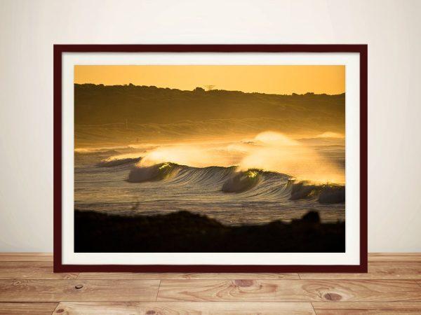 Seascapes Sunset Framed Wall Art