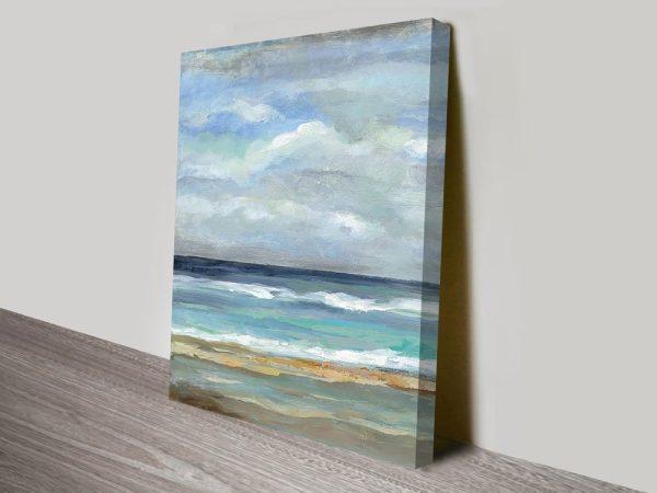 Seashore Silvia Vassileva Seascape Art Print