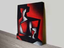 Seated Angst Wall Abstract and Contemporary Art