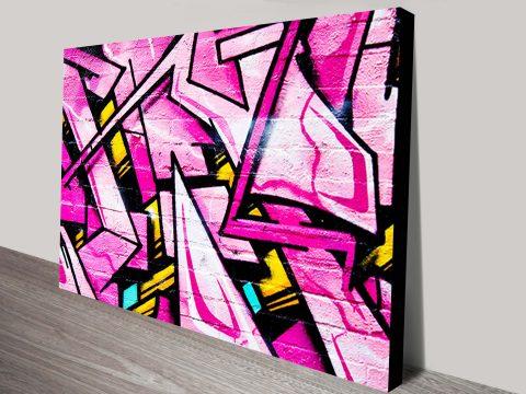 Buy Graffiti Street Art on Canvas Online