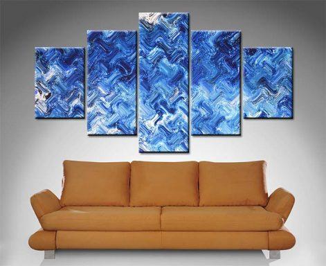 Shimmering Variation 5 Panel Wall Art