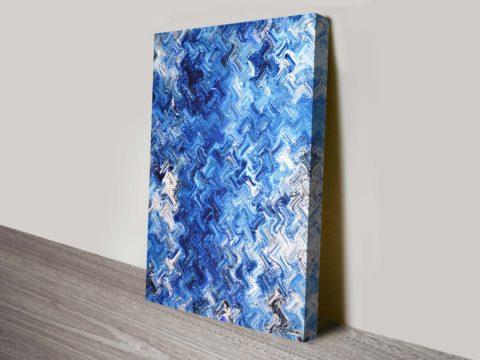 Shimmering Variation Xavier Alexander Abstract Wall Art Print