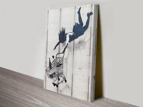 Shop Until You Drop by Banksy