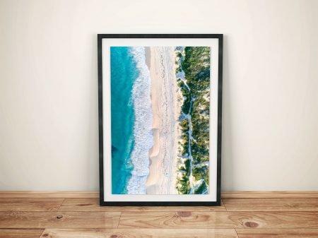 Shorehaven Beach From Above Alkimos Western Australia Wall Art Prints