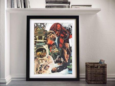 Signs Robert Rauschenberg Fine Arts Framed Print
