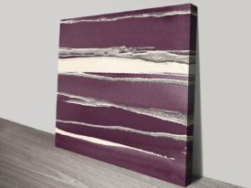 Silver-Rose-II-Purple-canvas-print_preview