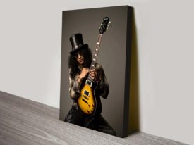 Slash Photo Canvas Art Print