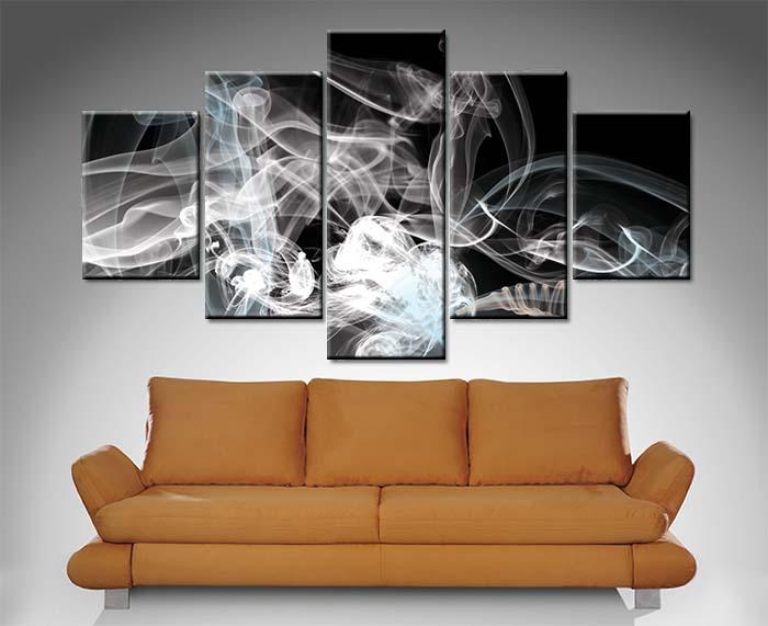 Smoke Bones 5 Panel Xavier Alexander Art