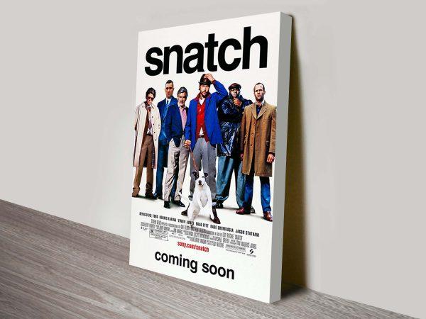 Snatch Movie Poster Canvas Print