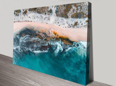 Sovereign Rocks Ocean Canvas Print