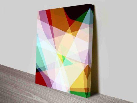 Spectrum Diversity Abstract Wall Art