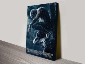 Spider Man 3 Movie Poster Canvas Print