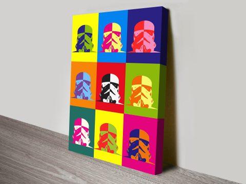 Star Wars Pop Art canvas print
