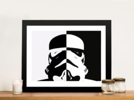 Stormtrooper Star Wars Framed Wall Artwork