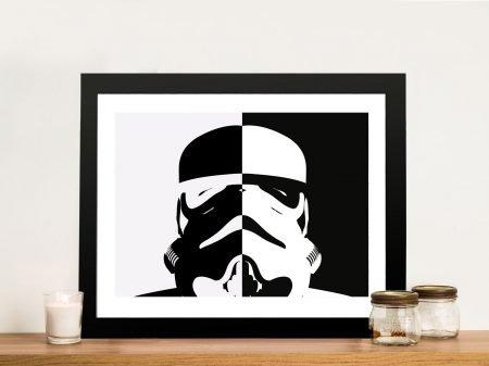 Stormtrooper Star Wars Framed Wall Artwork