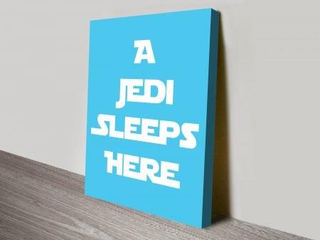 Star Wars Art canvas print