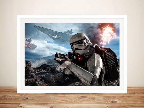 Star Wars Battlefront Framed Wall Art