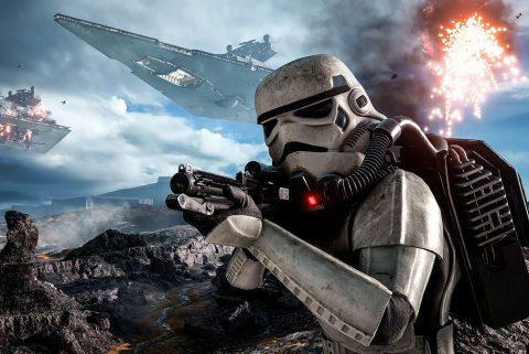 Star Wars Battlefront wall art