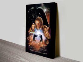Star Wars Episode II Vintage Canvas Poster