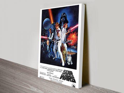 Star Wars Movie Poster Canvas