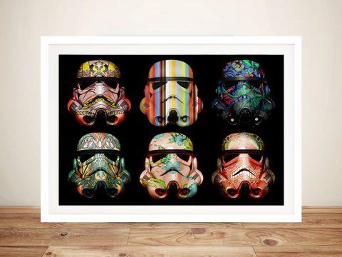 Star Wars Pop art Framed Wall Art