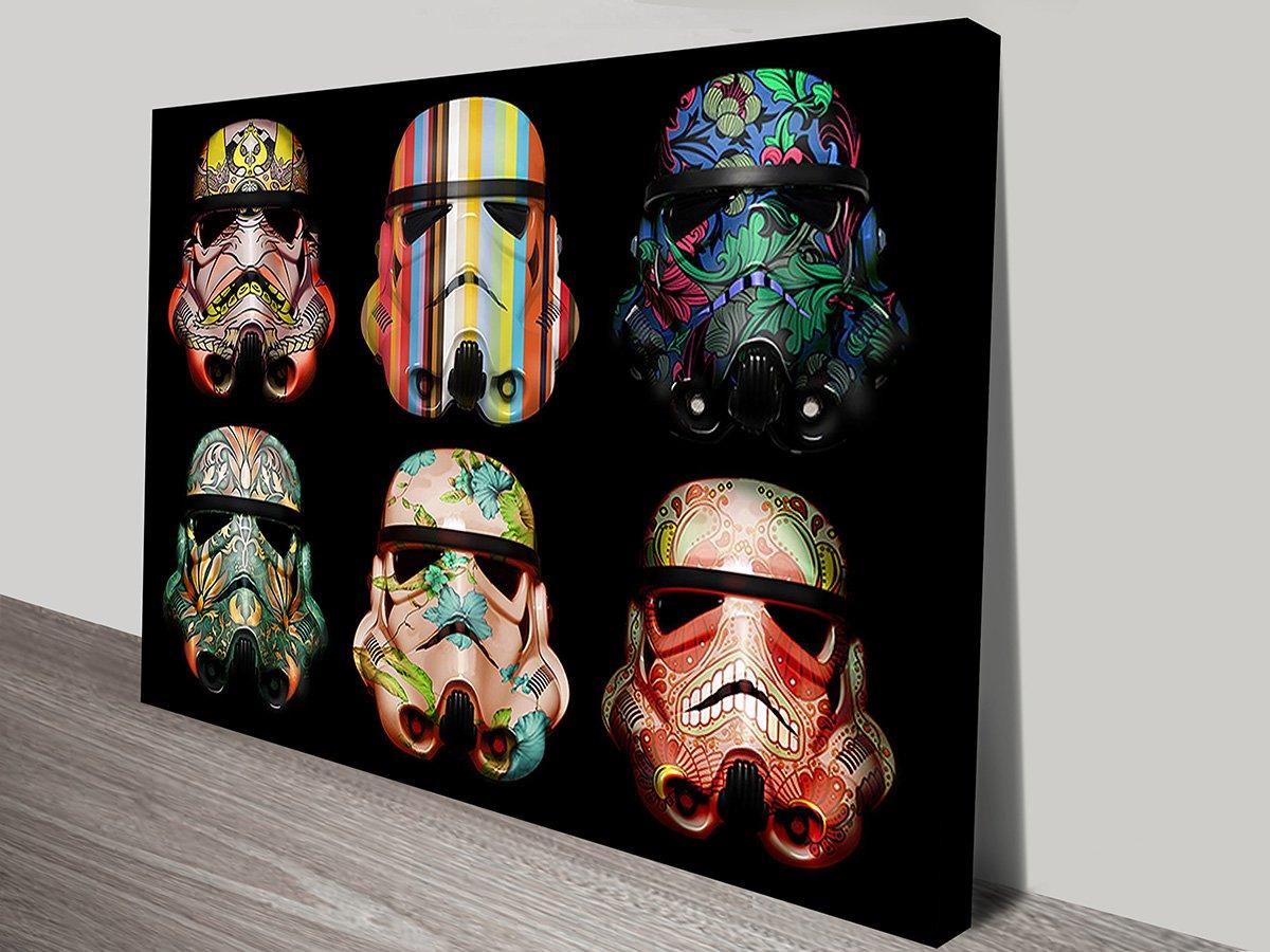 Star wars stormtrooper canvas wall art