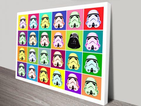 Star Wars Warhol Pop Art II