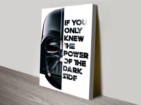 Darth Vader Wall Art Australia