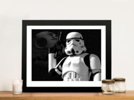 StormTrooper Framed Wall Pop Art