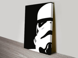 Storm Trooper Helmet Star Wars Art