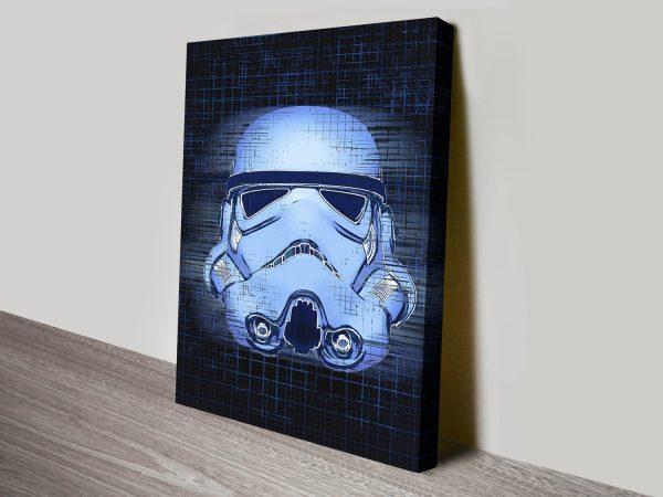Blueprint StormTrooper Star Wars Wall Art