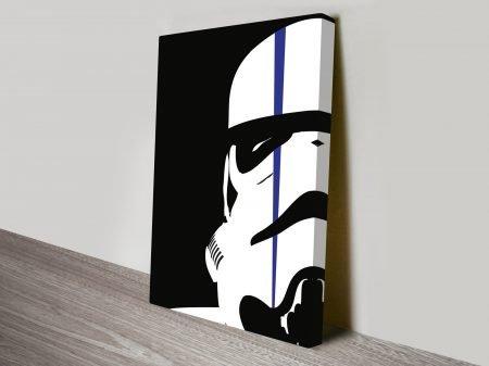 Stormtrooper With Strike Star Wars Art