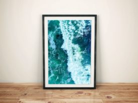 Avalon Surf Break Wannanup Framed Wall Art