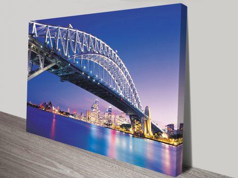 Sydney Harbour Bridge Canvas Wall Art