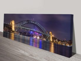 Sydney Harbour Bridge Panorama Wall Art