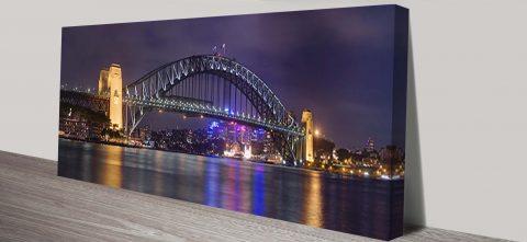 Sydney Harbour Bridge Panorama Wall Art