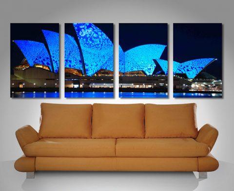 Sydney Harbour Opera House Wall Art