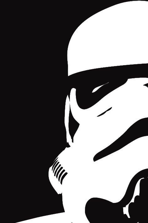 Star Wars Storm Trooper canvas Print
