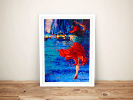 Corrida de Taxi Iris Scott Canvas Prints