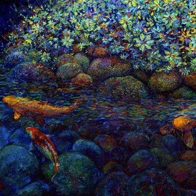 Limerance Canvas Art Print by Iris Scott Melbourne