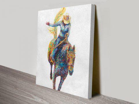 Rodeo Iris Scott Canvas Artwork Prints Melbourne