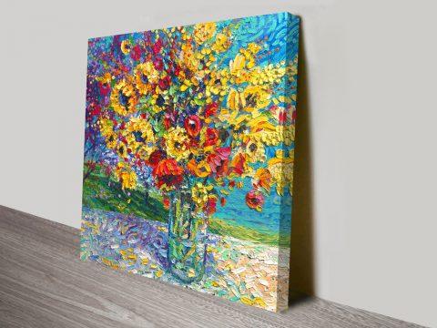 Sangria Licorice Iris Scott Canvas Artwork Prints