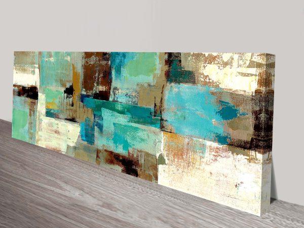 Teal and Aqua Silvia Vassileva Wall Prints