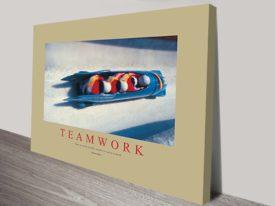 Teamwork Corporate Art
