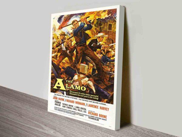 The Alamo Movie Poster Canvas Print