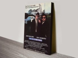 Blues Brothers Movie Poster Canvas Print