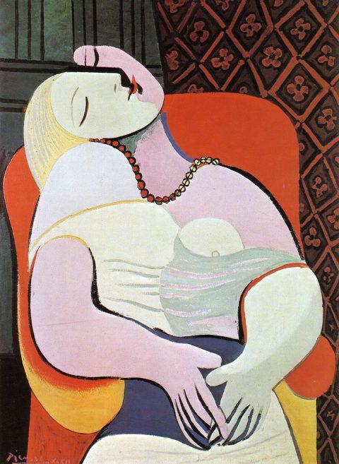 Le Reve by Pablo Picasso Canvas Art