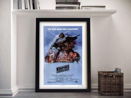 Buy The Empire Strikes Back Framed Wall Art